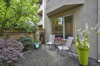 "Photo 2: 108 1009 HOWAY Street in New Westminster: Uptown NW Condo for sale in ""Huntington West"" : MLS®# R2373733"