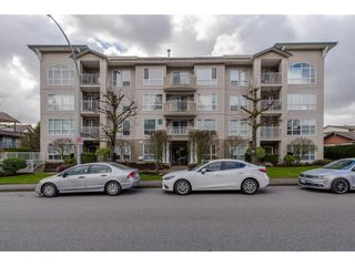 """Photo 1: 105 32120 MT WADDINGTON Avenue in Abbotsford: Abbotsford West Condo for sale in """"~The Laurelwood~"""" : MLS®# R2151840"""