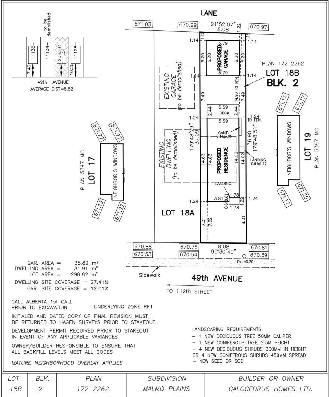 Main Photo: 11132 49 Avenue in Edmonton: Zone 15 Vacant Lot for sale : MLS®# E4249080