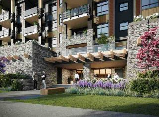"""Photo 1: 414 45562 AIRPORT Road in Chilliwack: Chilliwack E Young-Yale Condo for sale in """"THE ELLIOT"""" : MLS®# R2526003"""