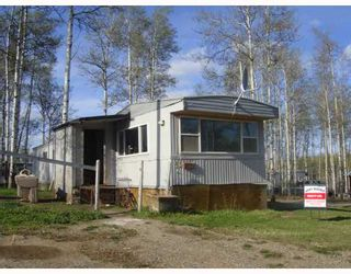 "Main Photo: 55 12842 OLD HUDSON HOPE Road in Charlie_Lake: Lakeshore Manufactured Home for sale in ""SHADY ACRES MH PARK"" (Fort St. John (Zone 60))  : MLS®# N193618"
