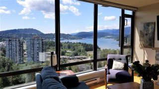 "Photo 1: 2503 400 CAPILANO Road in Port Moody: Port Moody Centre Condo for sale in ""ARIA 2 in Suterbrook"" : MLS®# R2535479"