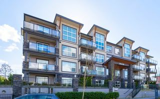 """Photo 1: 407 20630 DOUGLAS Crescent in Langley: Langley City Condo for sale in """"BLU"""" : MLS®# R2049078"""