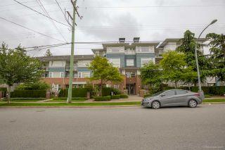 "Photo 1: 411 6508 DENBIGH Avenue in Burnaby: Forest Glen BS Condo for sale in ""OAKWOOD"" (Burnaby South)  : MLS®# R2085084"