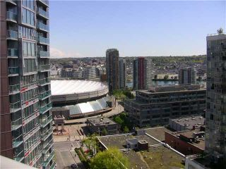 """Photo 2: 2202 788 HAMILTON Street in Vancouver: Downtown VW Condo for sale in """"TV TOWER I"""" (Vancouver West)  : MLS®# V825585"""