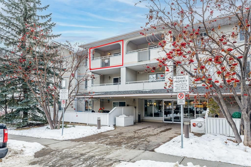 Main Photo: 306 1733 27 Avenue SW in Calgary: South Calgary Apartment for sale : MLS®# A1060600