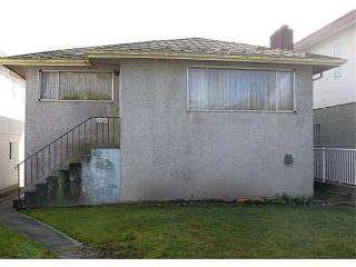 """Photo 1: 4864 INVERNESS Street in Vancouver: Knight House for sale in """"Knight"""" (Vancouver East)  : MLS®# V1053162"""