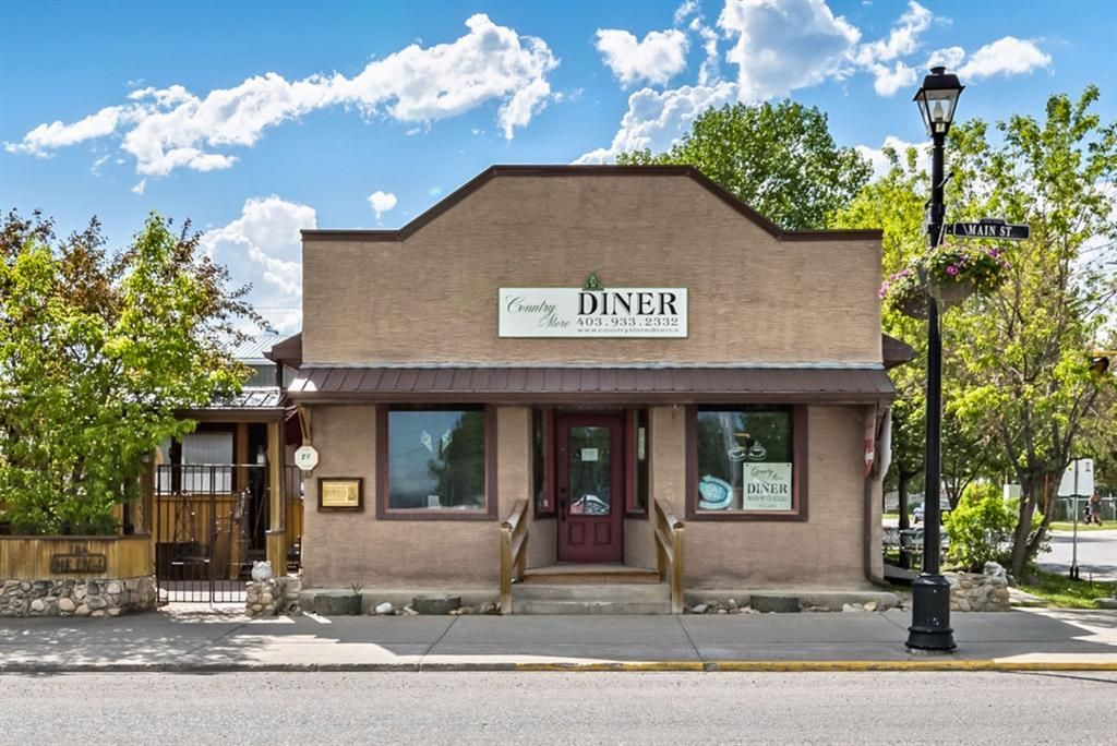 Main Photo: 146 Main Street: Turner Valley Retail for sale : MLS®# A1087902