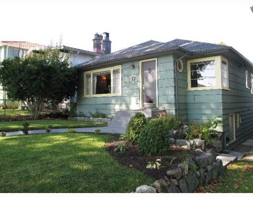 Main Photo: 19 E WOODSTOCK Avenue in Vancouver: Main House for sale (Vancouver East)  : MLS®# V790579