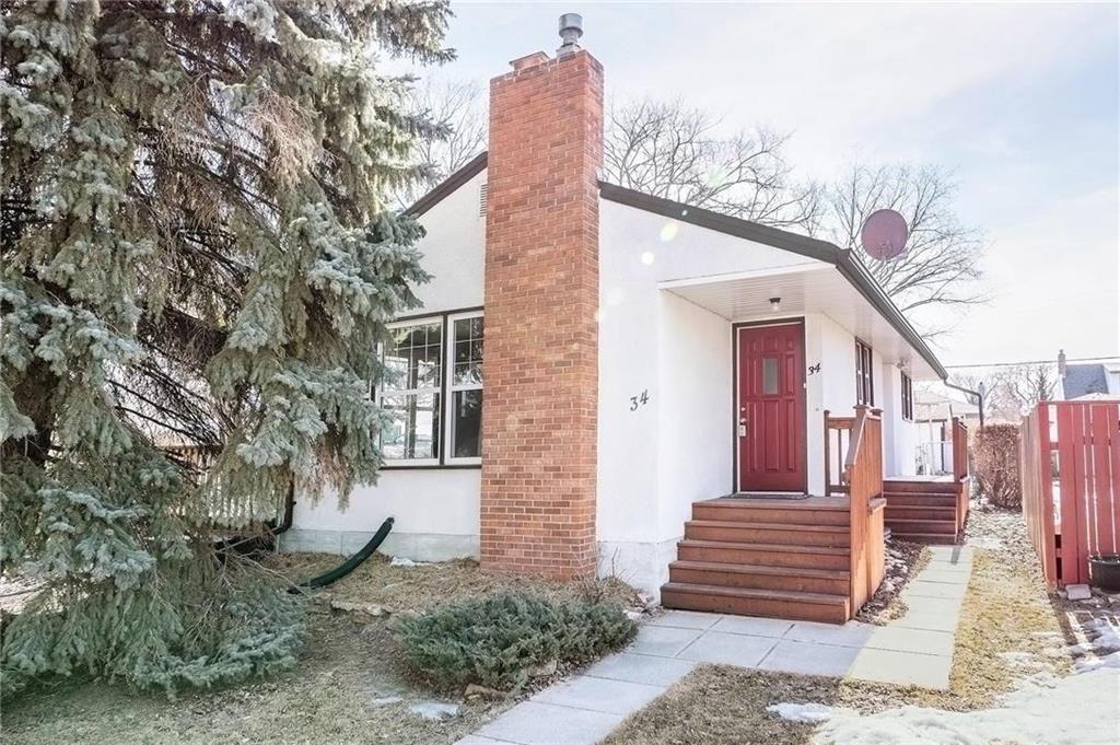 Main Photo: 34 Frederick Avenue in Winnipeg: Residential for sale (2D)  : MLS®# 202105645