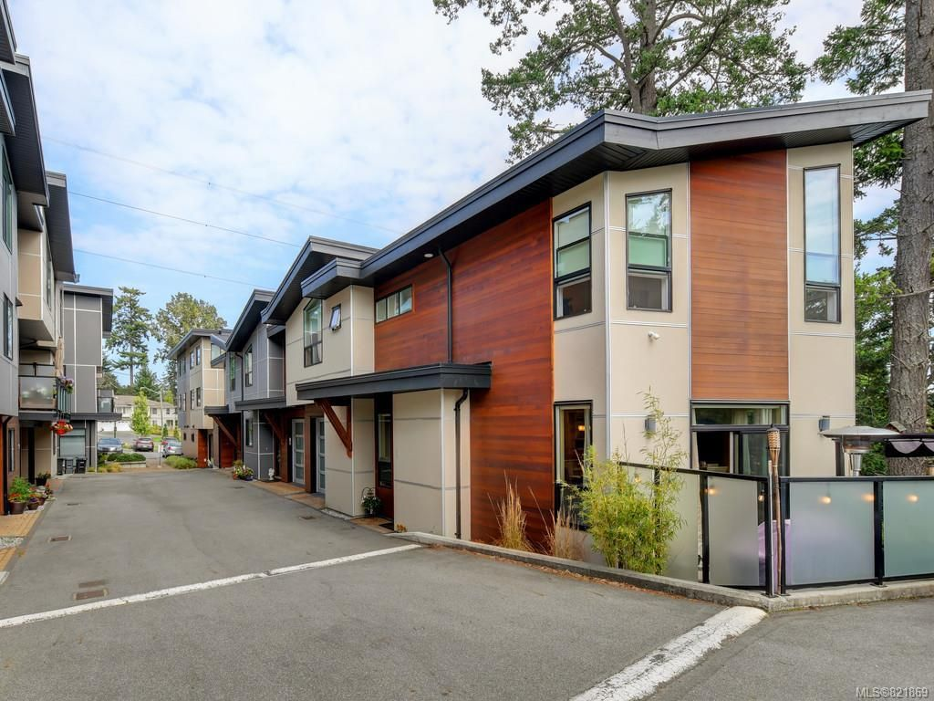 Main Photo: 1 2311 Watkiss Way in VICTORIA: VR Hospital Row/Townhouse for sale (View Royal)  : MLS®# 821869