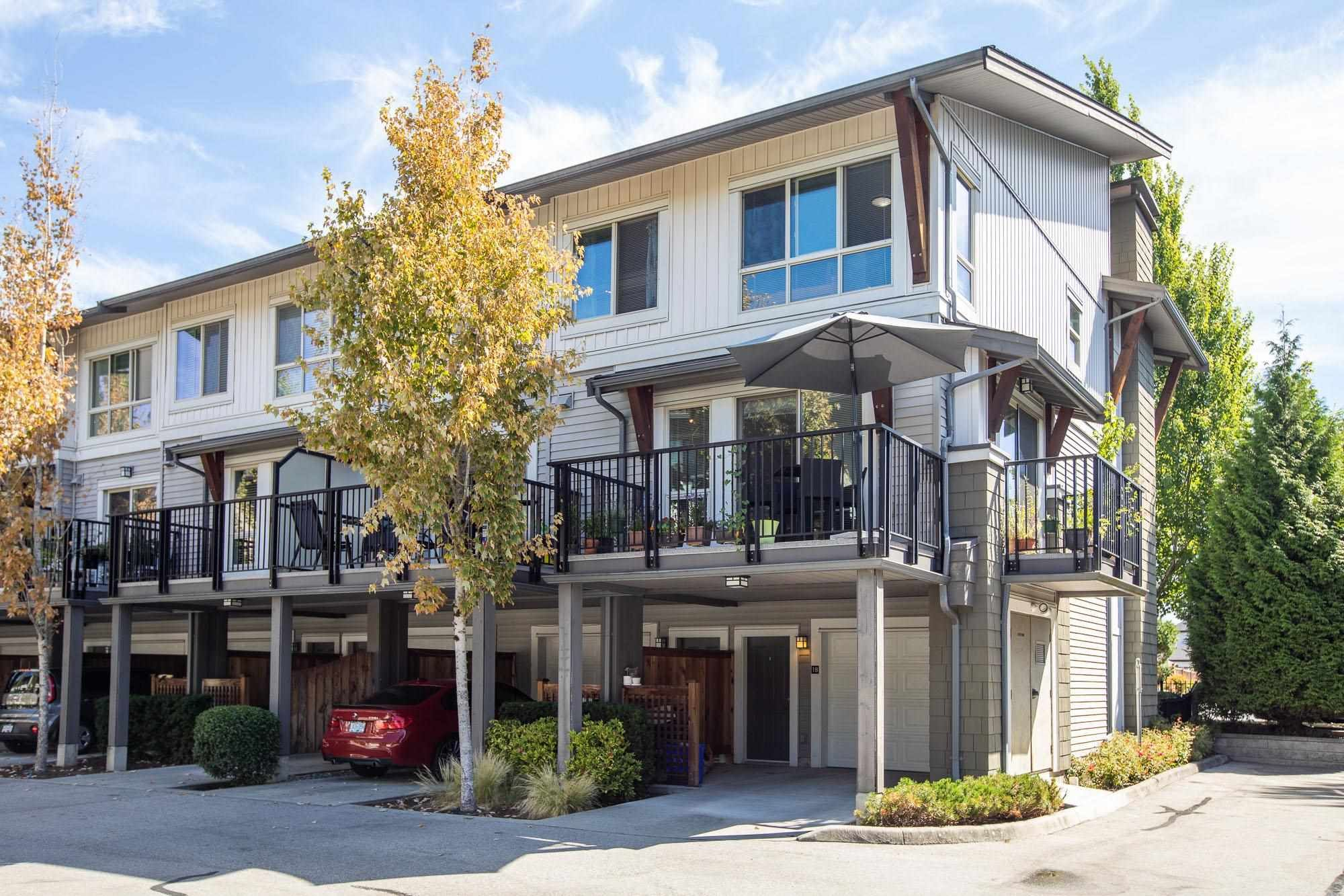 """Main Photo: 18 6671 121 Street in Surrey: West Newton Townhouse for sale in """"SALUS"""" : MLS®# R2606956"""