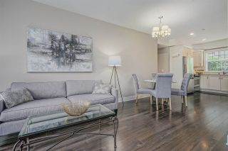 "Photo 1: 203 828 ROYAL Avenue in New Westminster: Downtown NW Townhouse for sale in ""Brickstone Walk"" : MLS®# R2388112"
