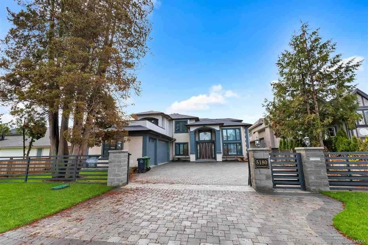 Main Photo: 5180 CALDERWOOD Crescent in Richmond: Lackner House for sale : MLS®# R2453892