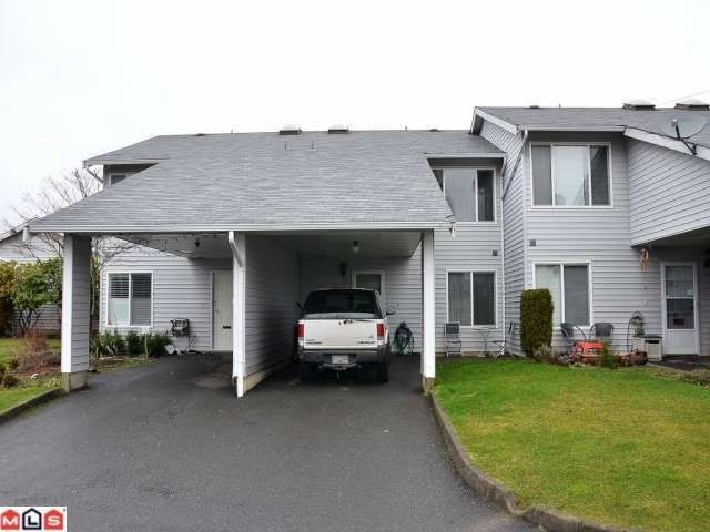 Main Photo: 39 26970 32ND Avenue in Langley: Aldergrove Langley Townhouse for sale : MLS®# F1204276
