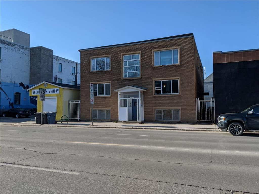 Main Photo: 575 Ellice Avenue in Winnipeg: Industrial / Commercial / Investment for sale (5A)  : MLS®# 202110924