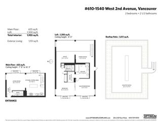 """Photo 32: PH610 1540 W 2ND Avenue in Vancouver: False Creek Condo for sale in """"The Waterfall Building"""" (Vancouver West)  : MLS®# R2580752"""