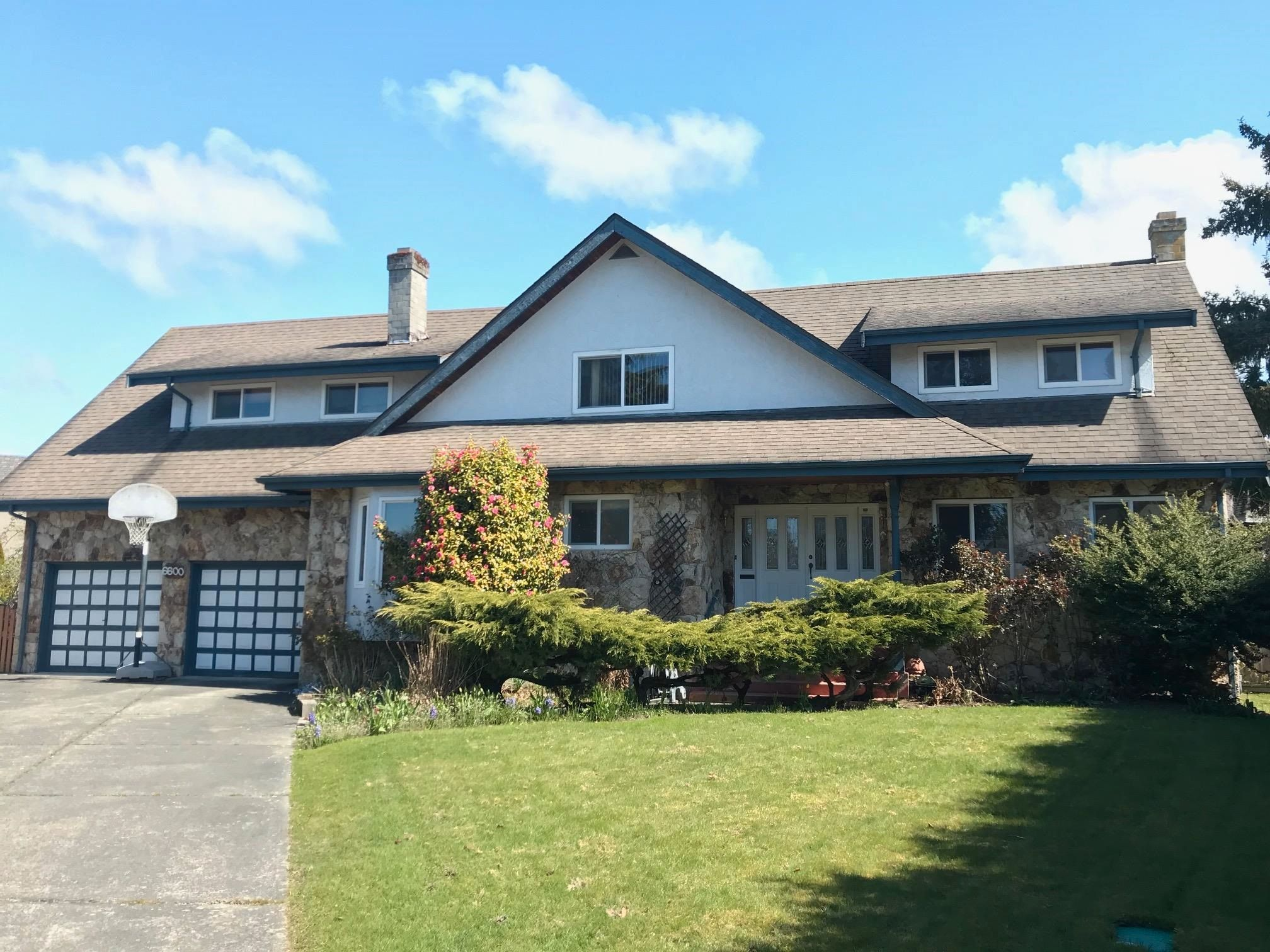 Main Photo: 6600 CONSTABLE Drive in Richmond: Woodwards House for sale : MLS®# R2611074
