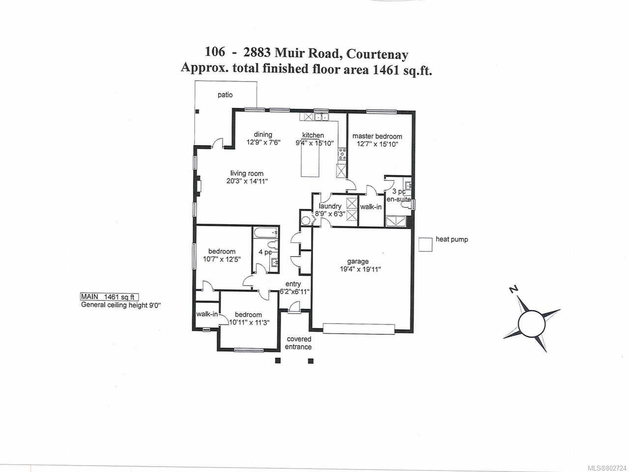 Photo 26: Photos: 106 2883 Muir Rd in COURTENAY: CV Courtenay East House for sale (Comox Valley)  : MLS®# 802724