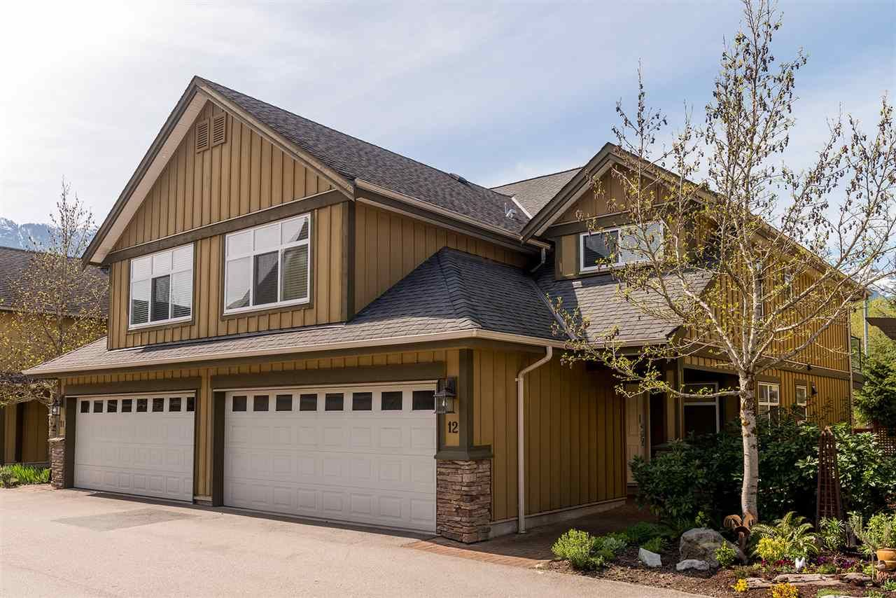 Main Photo: 12 41050 TANTALUS ROAD in Squamish: Tantalus Townhouse for sale : MLS®# R2056057