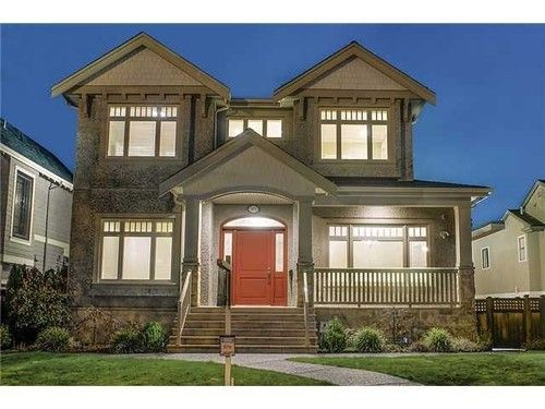 Main Photo: 3837 3RD Ave W in Vancouver West: Point Grey Home for sale ()  : MLS®# V1010558