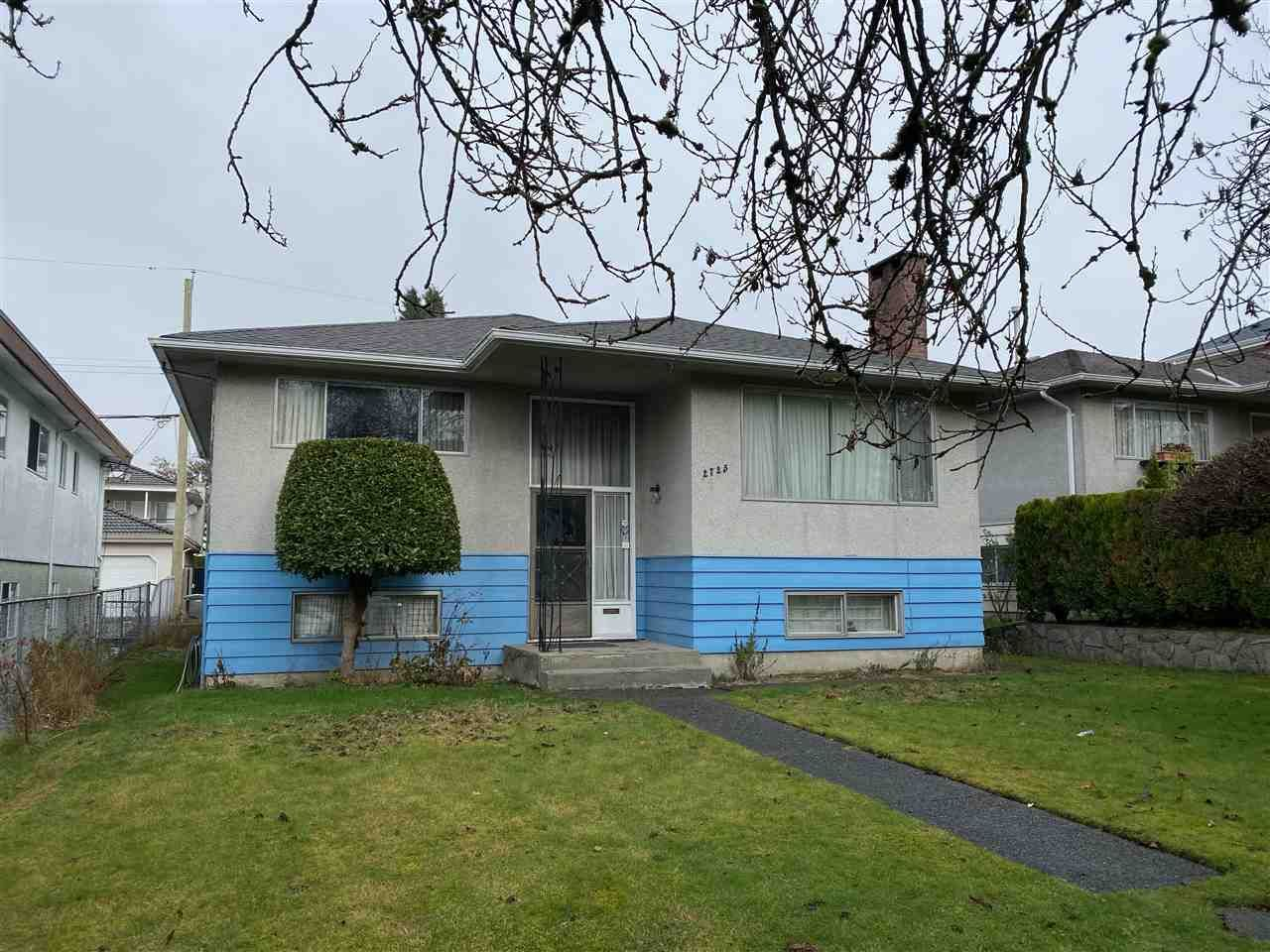 Main Photo: 2725 E 48TH Avenue in Vancouver: Killarney VE House for sale (Vancouver East)  : MLS®# R2533552