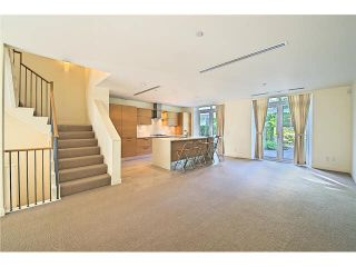 """Photo 5: 104 5838 BERTON Avenue in Vancouver: University VW Townhouse for sale in """"THE WESBROOK"""" (Vancouver West)  : MLS®# V1078429"""