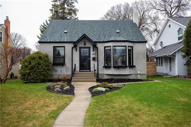 Photo 1: Photos: 497 McNaughton Avenue in Winnipeg: Riverview Residential for sale (1A)  : MLS®# 1911130