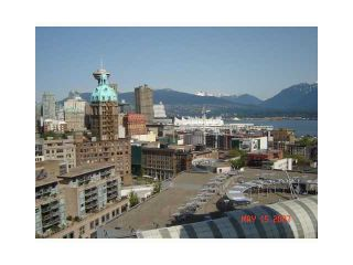 """Photo 1: 2206 58 KEEFER Place in Vancouver: Downtown VW Condo for sale in """"FRENZEI-DOWNTOWN"""" (Vancouver West)  : MLS®# V896555"""