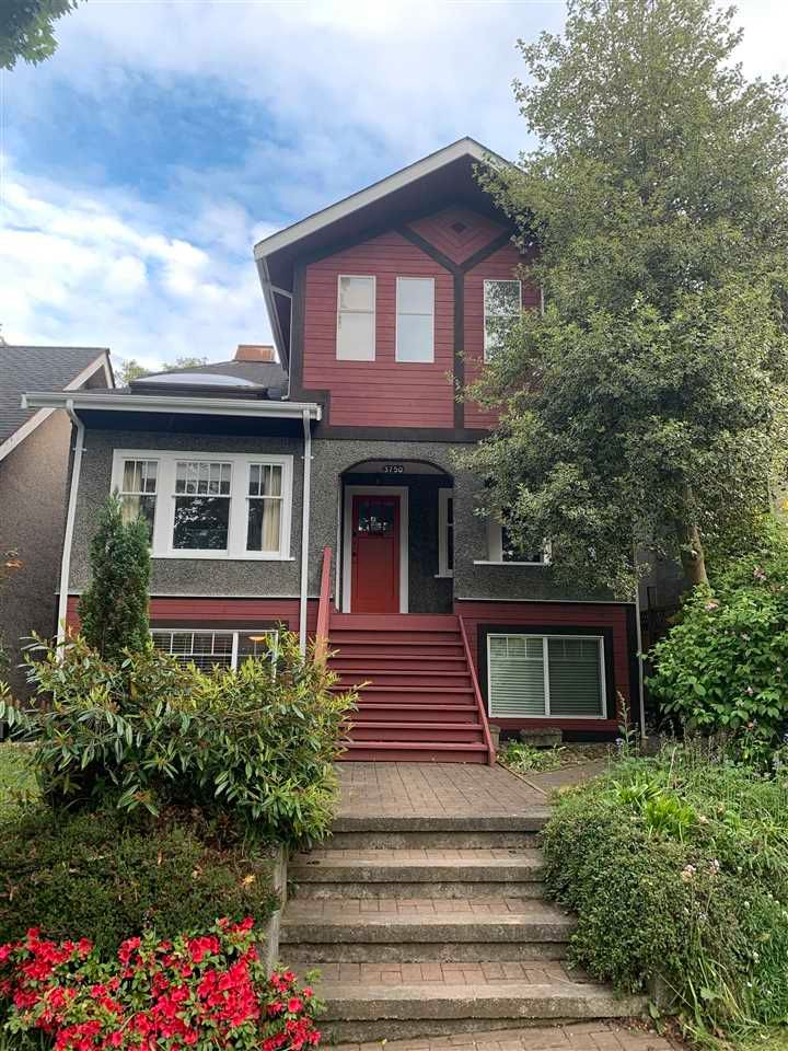 Main Photo: 3750 W 16TH Avenue in Vancouver: Point Grey House for sale (Vancouver West)  : MLS®# R2585134