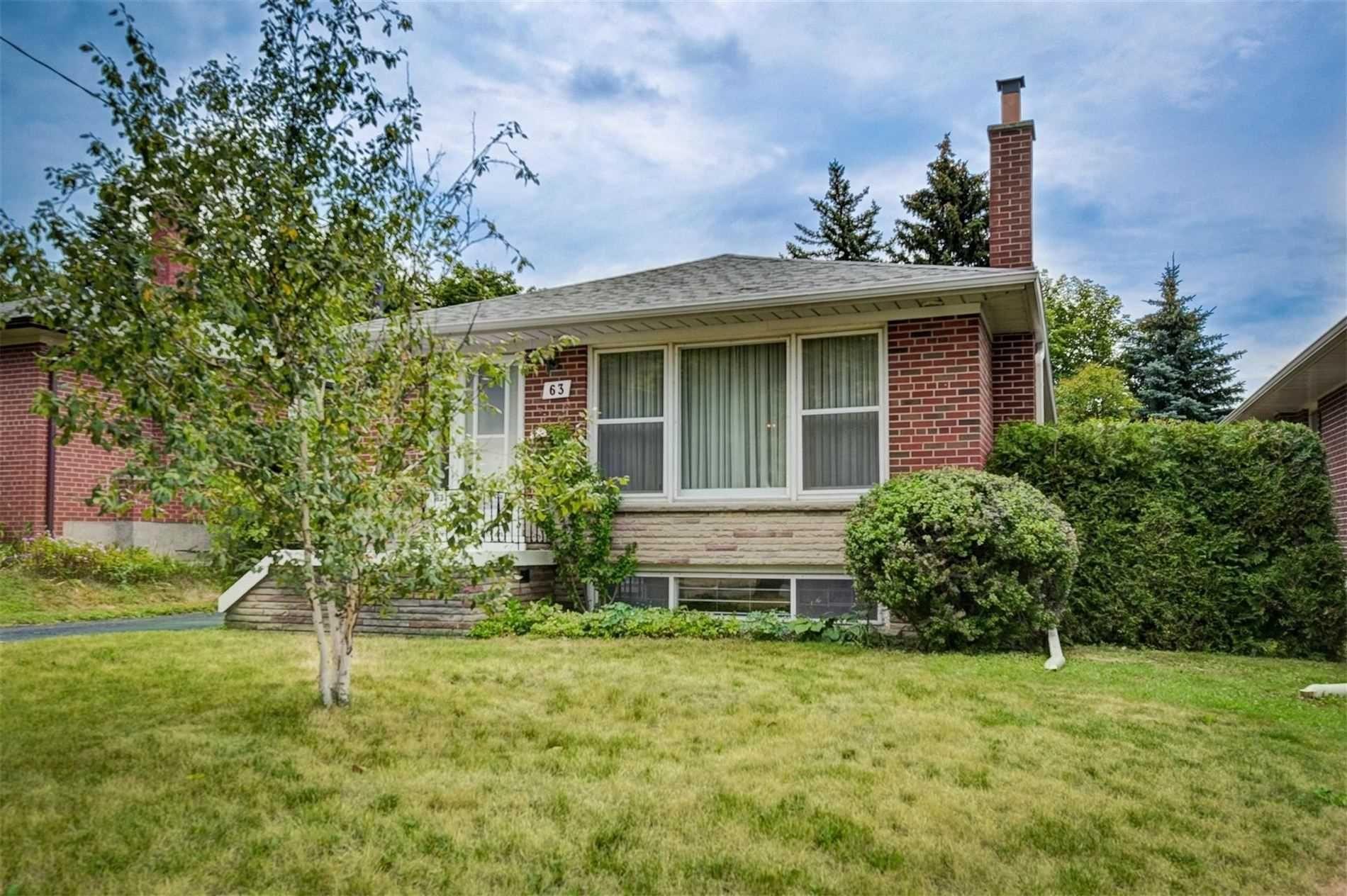 Main Photo: 63 Pandora Circle in Toronto: Woburn House (Bungalow) for sale (Toronto E09)  : MLS®# E4842972