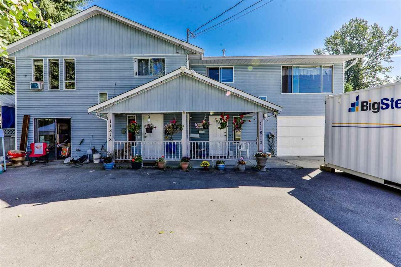 Main Photo: 11818 232 Street in Maple Ridge: Cottonwood MR 1/2 Duplex for sale : MLS®# R2317256