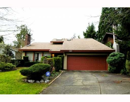 Main Photo: 1361 WYNBROOK Place in Burnaby: Simon Fraser Univer. House for sale (Burnaby North)  : MLS®# V812761