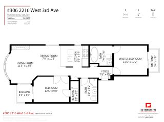 """Photo 28: 306 2216 W 3RD Avenue in Vancouver: Kitsilano Condo for sale in """"Radcliffe Point"""" (Vancouver West)  : MLS®# R2554629"""