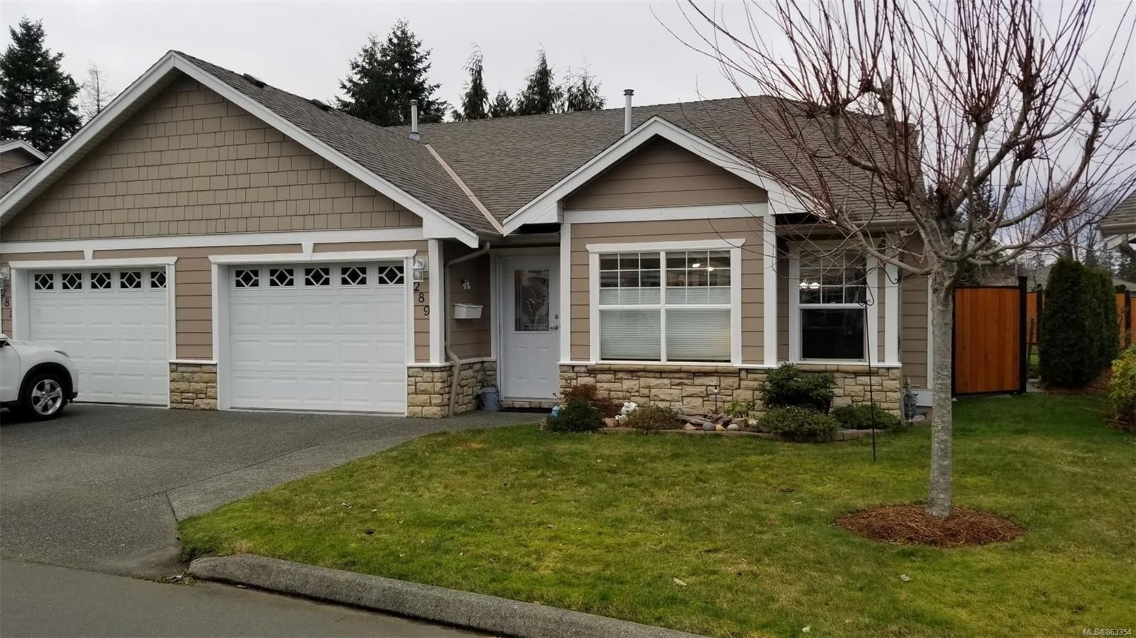 Main Photo: 289 River City Lane in : CR Willow Point Row/Townhouse for sale (Campbell River)  : MLS®# 863354