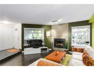 """Photo 3: 17 1350 W 6TH Avenue in Vancouver: Fairview VW Townhouse for sale in """"PEPPER RIDGE"""" (Vancouver West)  : MLS®# V1094949"""