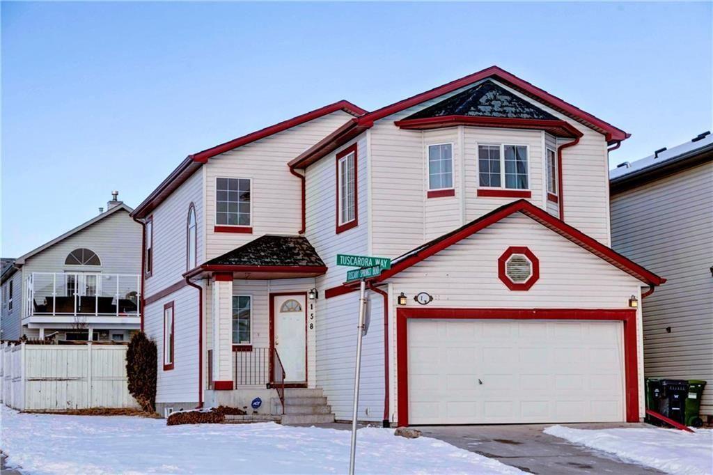 Main Photo: 158 TUSCARORA Way NW in Calgary: Tuscany Detached for sale : MLS®# C4285358