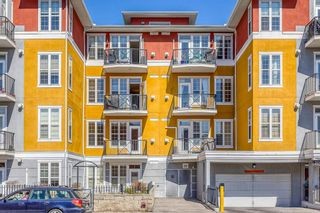 Main Photo: 218 208 Holy Cross Lane SW in Calgary: Mission Apartment for sale : MLS®# A1096131