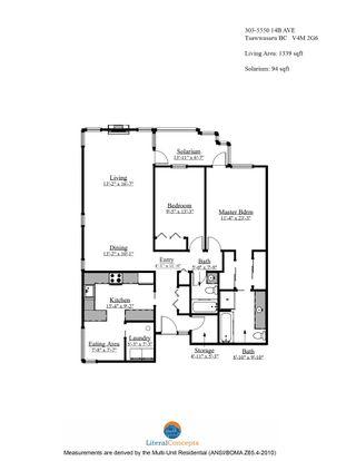 """Photo 2: 303 5550 14B Avenue in Delta: Cliff Drive Condo for sale in """"HIGHLAND TERRACE"""" (Tsawwassen)  : MLS®# R2617529"""