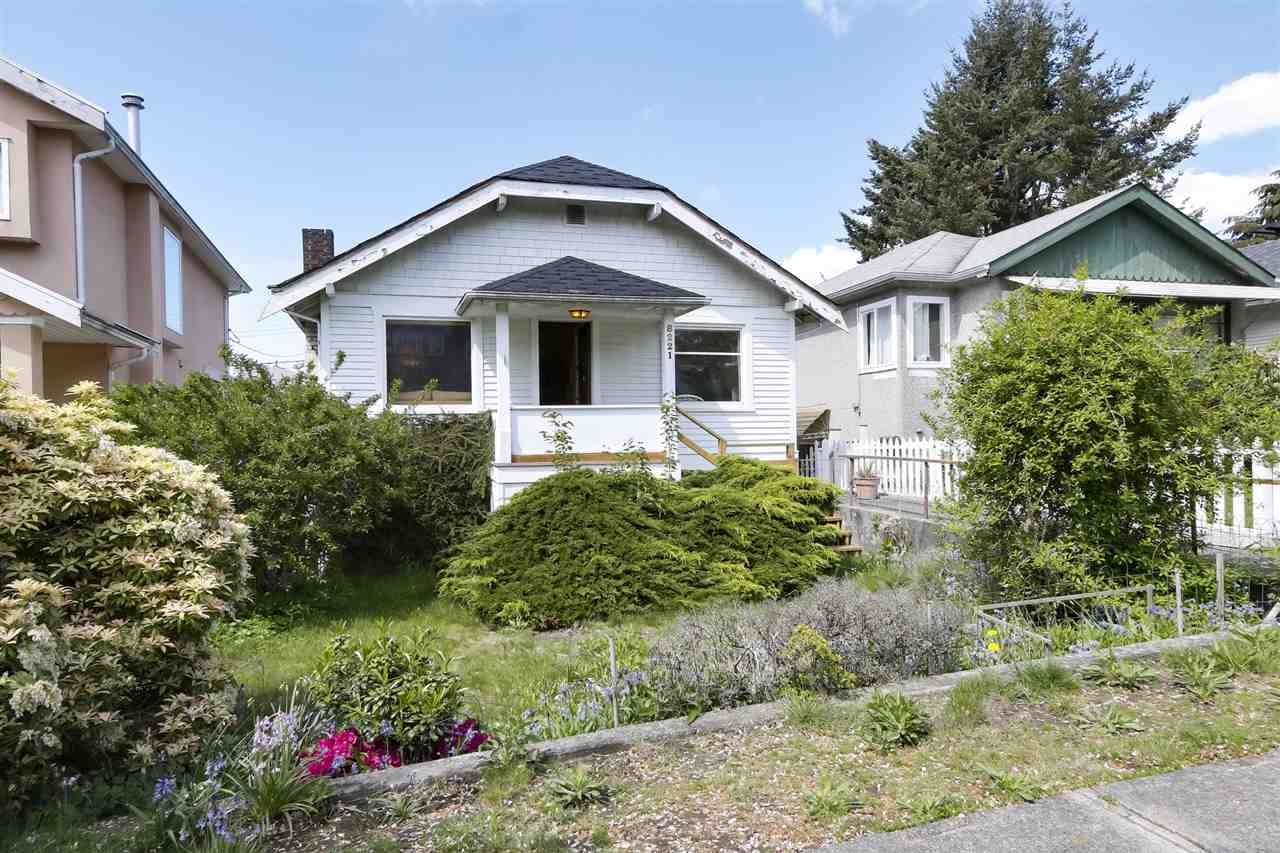 """Main Photo: 8221 CARTIER Street in Vancouver: Marpole House for sale in """"Marpole Village"""" (Vancouver West)  : MLS®# R2454201"""