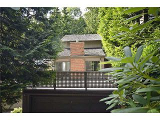 Photo 1: 5551 HUCKLEBERRY LN in North Vancouver: Grouse Woods House for sale : MLS®# V906922