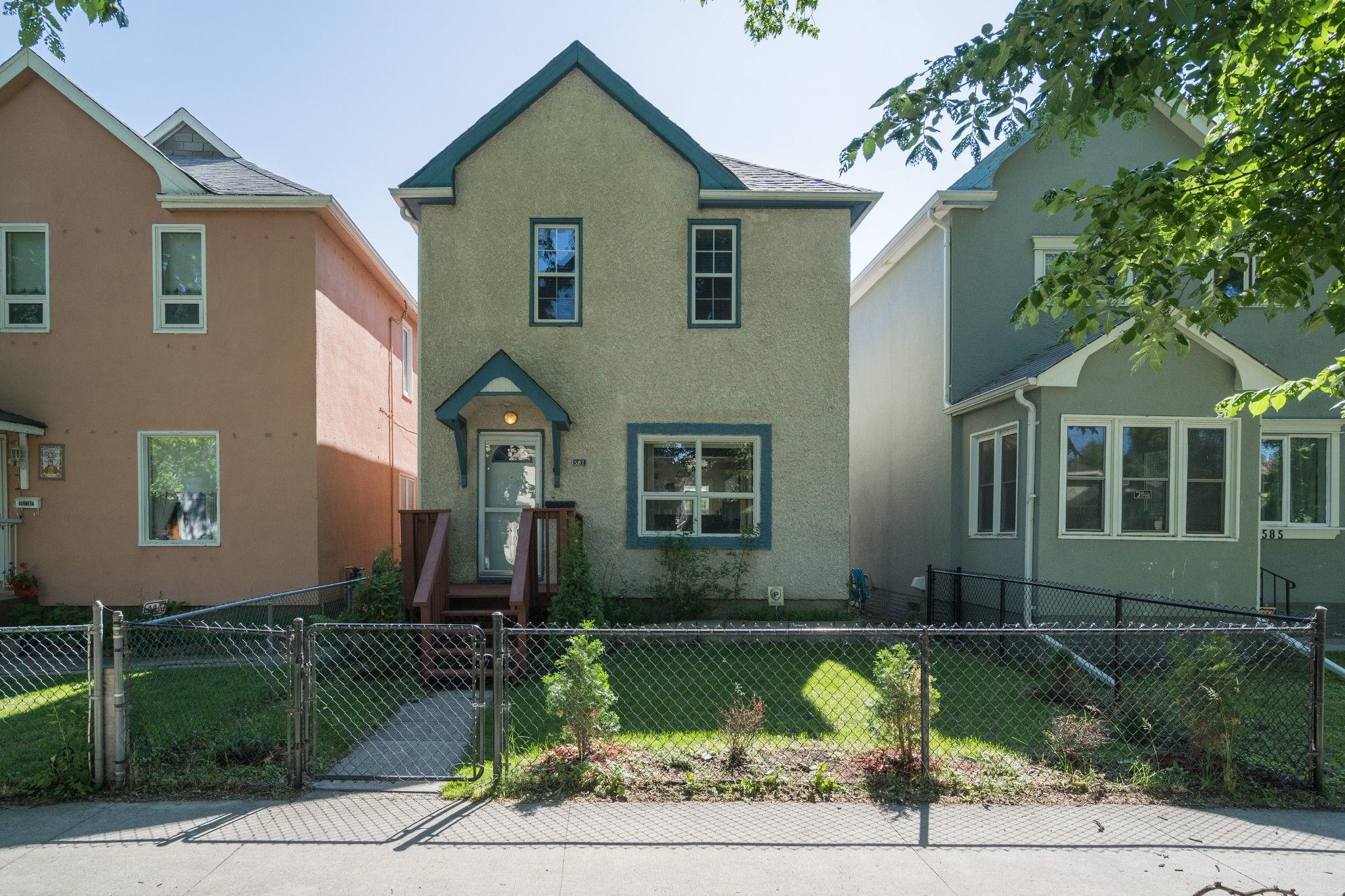 Main Photo: 587 Home Street in Winnipeg: West End House for sale (5A)  : MLS®# 1817536