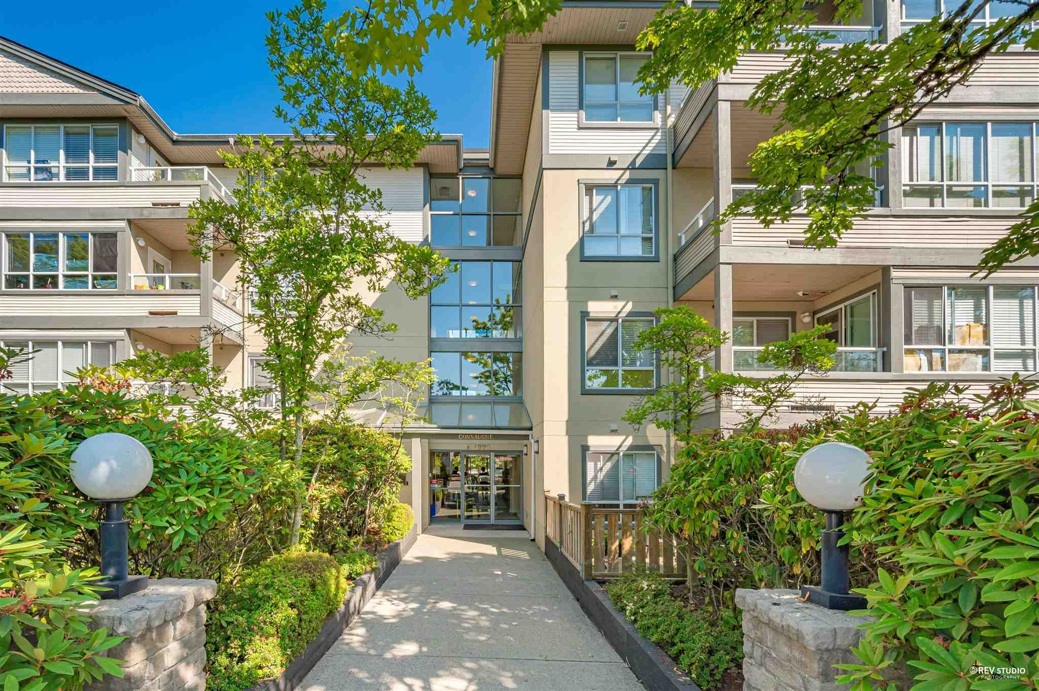 """Main Photo: 206 4990 MCGEER Street in Vancouver: Collingwood VE Condo for sale in """"Connaught"""" (Vancouver East)  : MLS®# R2600834"""