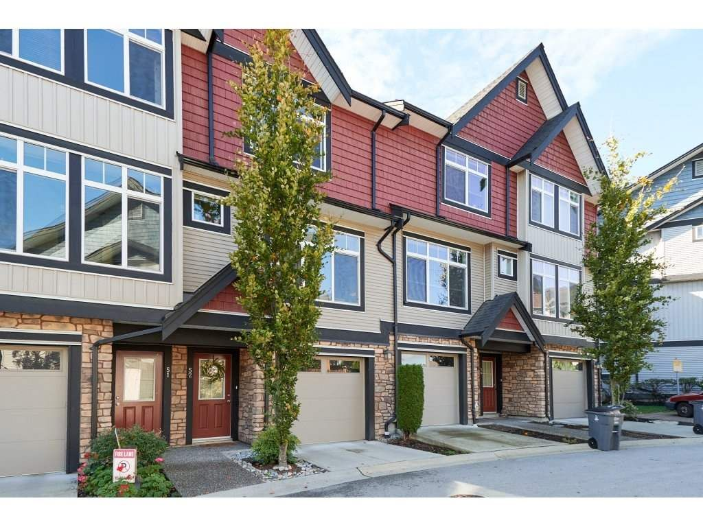 "Main Photo: 52 6299 144 Street in Surrey: Sullivan Station Townhouse for sale in ""Altura"" : MLS®# R2312947"