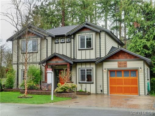 Main Photo: 765 Danby Pl in VICTORIA: Hi Bear Mountain House for sale (Highlands)  : MLS®# 723545
