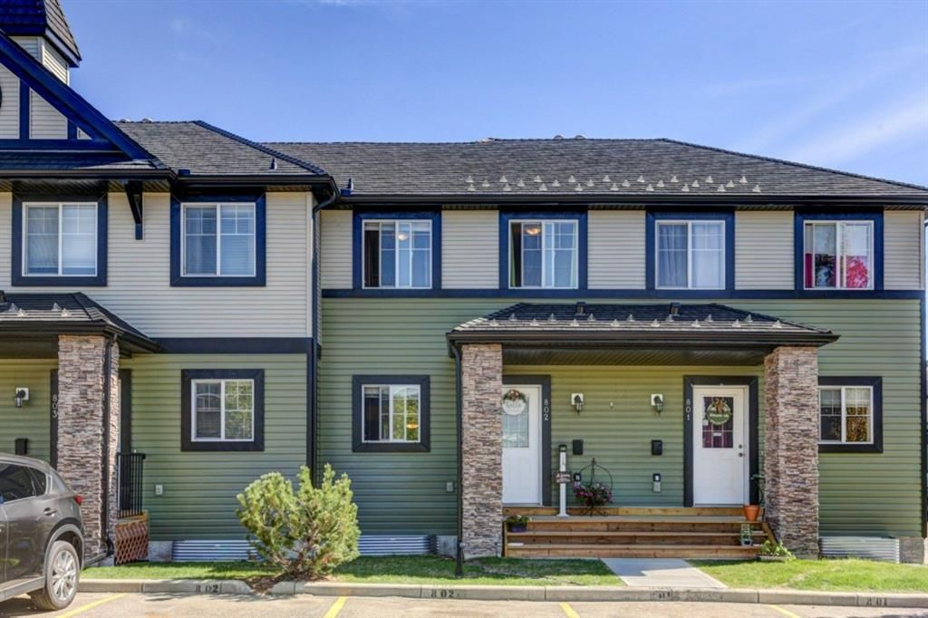 Main Photo: 802 140 Sagewood Boulevard SW: Airdrie Row/Townhouse for sale : MLS®# A1114716