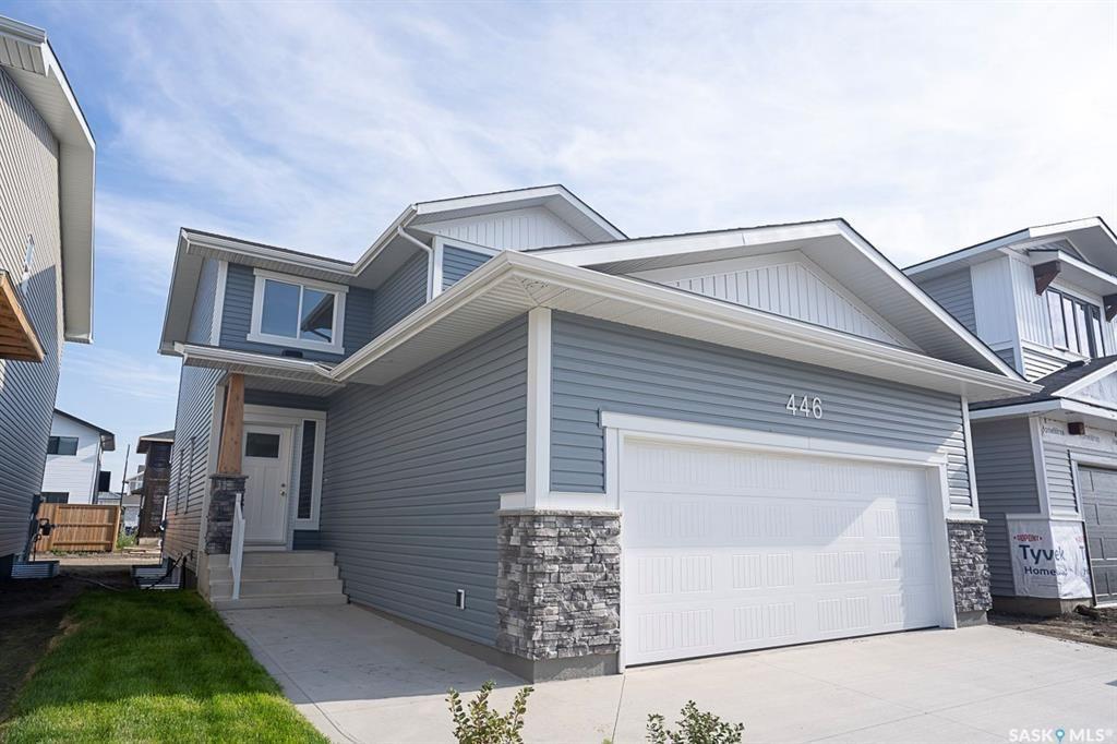 Main Photo: 446 Germain Manor in Saskatoon: Brighton Residential for sale : MLS®# SK870332