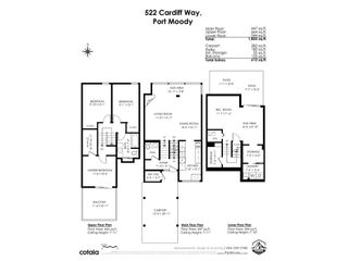 """Photo 35: 522 CARDIFF Way in Port Moody: College Park PM Townhouse for sale in """"EASTHILL"""" : MLS®# R2568000"""