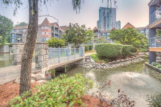 """Photo 1: 211 1200 EASTWOOD Street in Coquitlam: North Coquitlam Condo for sale in """"Lakeside Terrace"""" : MLS®# R2195030"""