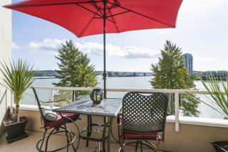 "Photo 1: 420 1150 QUAYSIDE Drive in New Westminster: Quay Condo for sale in ""WESTPORT"" : MLS®# R2527891"